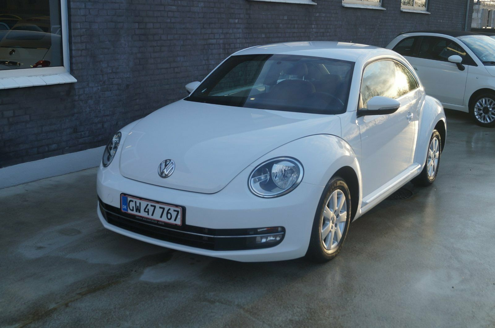 VW The Beetle 1,6 TDi 105 Design 2d - 119.999 kr.