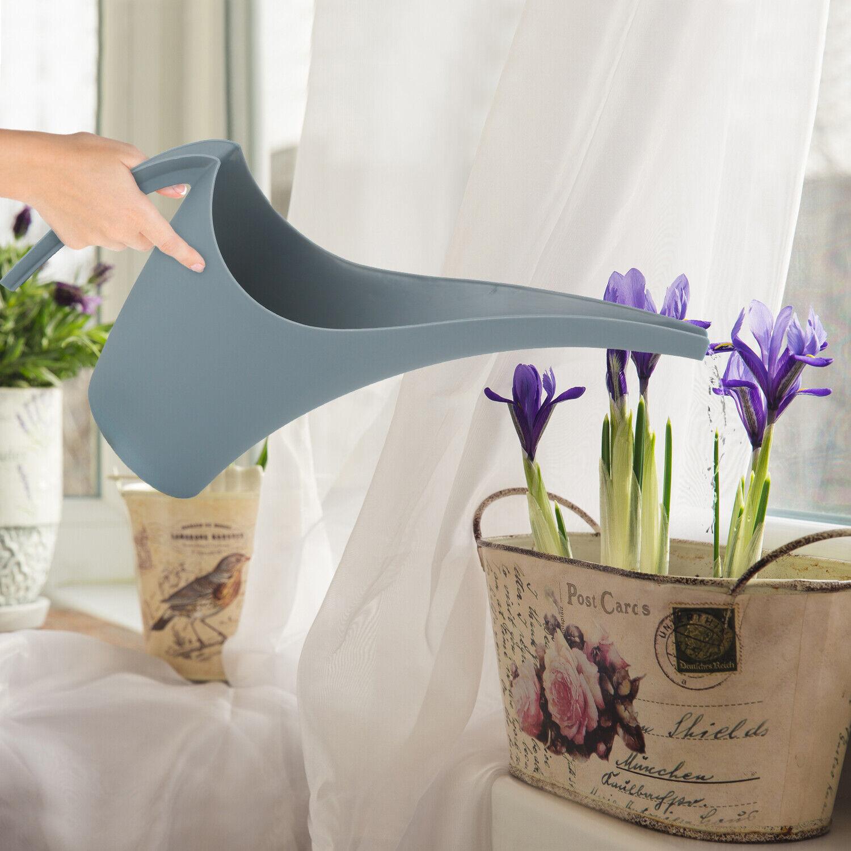 Long Narrow Spout 1.8L Watering Can Fruit Flowers Plants Indoor Outdoor Garden