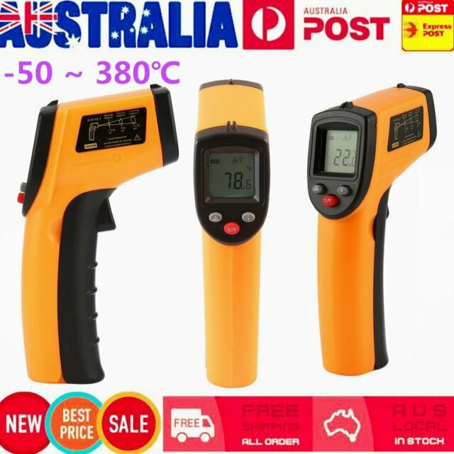 New Temp Meter Temperature Gun Non-contact Digital Laser IR Infrared Thermometer