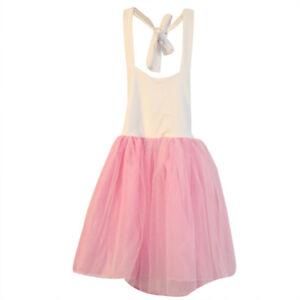 90610ff28 Detalles de Niña Vestido Pequeña Princesa Boda Falda Noche Suave Traje de  Fiesta Moda