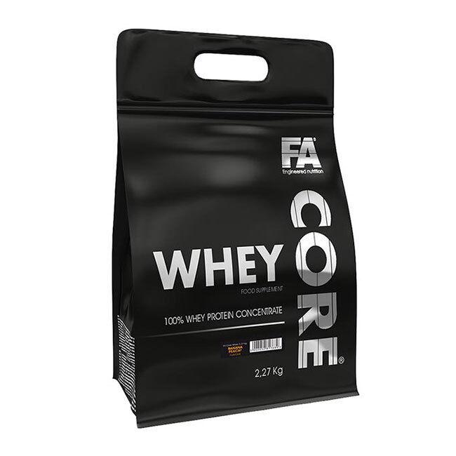 Fitness Authority - Core Whey Whey Whey - 2270g, Protein Isolat Eiweiß Muskelaufbau Eiweiß e81316