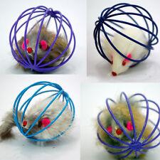 Regalo jugar Juguetes falsas ratón jaula de ratas Pelota Para Mascota Gato Play