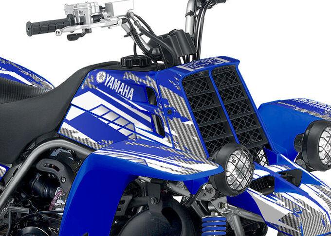 Yamaha Banshee Graphics Kit - Racer-X  by Invision Artworks