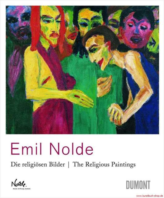 Fachbuch Emil Nolde Religiöse Bilder NEU Zentrale Motive des Christentums