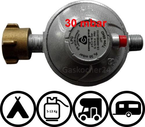 50 mbar Caravane Camping-cars Detendeur gaz Réducteur de pression Véhicule-Régulateur de pression 2019 30