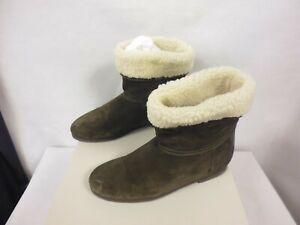 ebay uk fur ankle boot