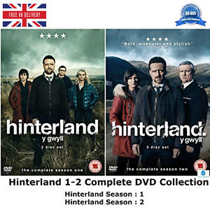 Hinterland-Series-1-2-Complete-Collection-Y-Gwyll-Season-1-amp-2-Extras-UK-DVD