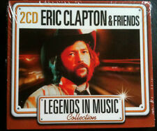 LEGENDS IN MUSIC COLLECTION - ERIC CLAPTON & FRIENDS - 2 CD NEUF -