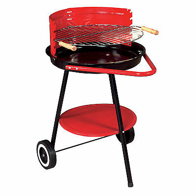 NEW GALWAY BARBEQUE GRILL - CHARCOAL POWERED PORTABLE GARDEN / CAMPING BBQ