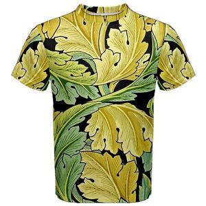 william morris ancanthus leaves t shirt vintage arts crafts