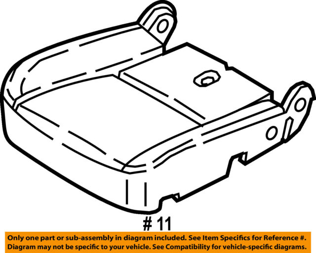 Ford Oem Seat Cover Bt1z5862900a Image 11 For Sale Online