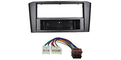 Radio diafragma set ford fiesta Fusion din instalación marco autoradio ISO adaptador DIN