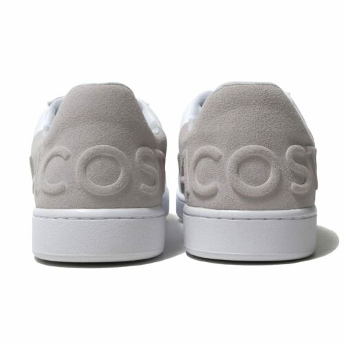 Lacoste Mens Shoes CARNABY EVO 318 6 WHITE Casual Sneakers NEW Authentic