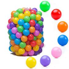 100pcs Quality Baby Kid Pit Toy Swim Pool Fun Colorful Soft Plastic Ocean Ball