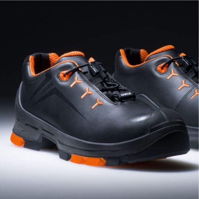 6502243 Scarpe di sicurezza S3 misura 43 Nero Arancione Uvex 2 6502243 1 Paio