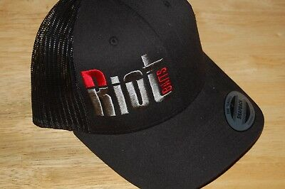 riot baits lures fishing cap hat black the classics snapback meshback NEW