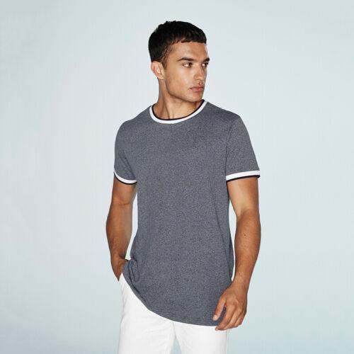Regular Fit T-shirt FR131 FRONT Row Punta TAG libero Contrasto T-shirt