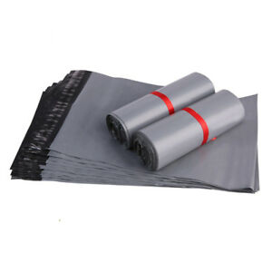 STRONG-LARGE-GREY-MAILING-BAGS-17x24-034-PLASTIC-POSTAGE-POSTAL-COURIER-SELF-SEAL