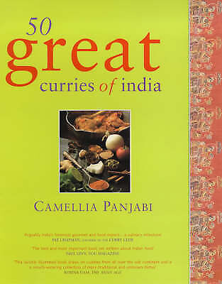 50 Great Curries of India, Panjabi, Camellia, Very Good Book