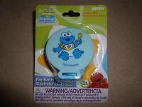 Sesame Streetsesame Beginnings cookie Monster Pacifier Holdernew In Package