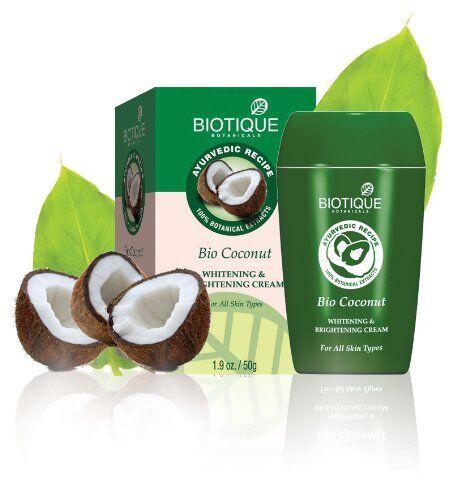 Image result for Biotique Bio Coconut Whitening & Brightening Cream