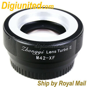 Zhongyi-Lens-Turbo-II-Reducer-Booster-M42-screw-to-Micro-4-3-Adapter-MFT-OM-D-G6