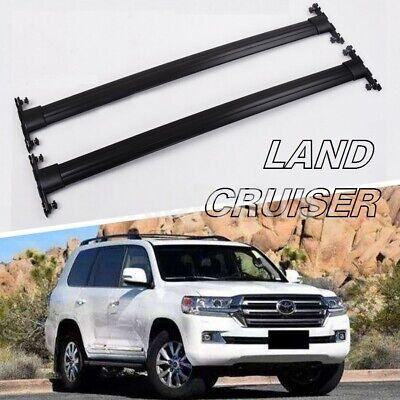 For Toyota Land Cruiser FJ200 LC200 2008-2018 roof rack rail cross bar carrier