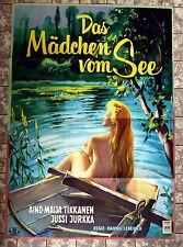 MÄDCHEN VOM SEE / Morsius Seppele  * A1-Filmposter - German 1-Sheet 1959