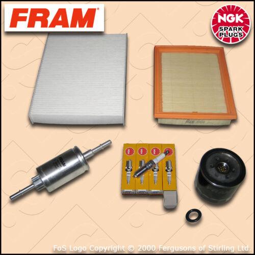 2002-2008 SERVICE KIT FORD FIESTA MK6 1.25 16V OIL AIR FUEL CABIN FILTER PLUGS