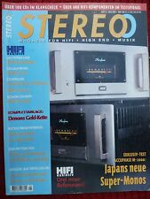STEREO 5/98 behrendsen pre 1,sta 150, sphinxs Honert 11,1, accuphase M 2000,hgp Cord