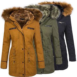 damas-invierno-chaqueta-mujer-abrigo-parka-con-capucha-cuello-de-piel-d-214