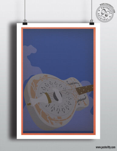 DIRE STRAITS Minimalist Music Album Cover Poster Posteritty Minimal Print