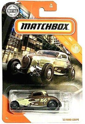 MATCHBOX 2020 `33 FORD COUPE MBX CITY NEU /& OVP