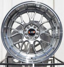 One 18x8.5 F1R F21 5x112/114.3 Car & Truck Wheels, Tires & Parts Car & Truck Parts 45 Hyper Black/Polish Lip Wheel