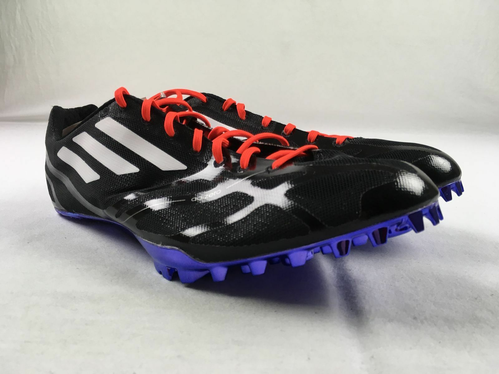 NEW adidas adizero Prime Fines - Black Cleats (Men's Multiple Sizes)