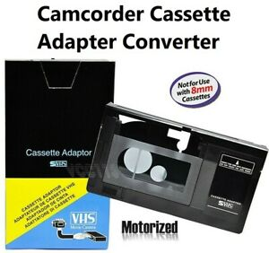 Camcorder-VHS-Cassette-Size-Converter-Video-Player-Adapter-Device-FOR-PANASONIC
