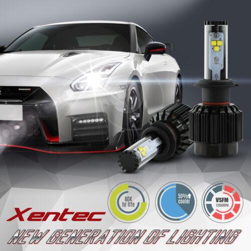 XENTEC H13 9008 LED Headlight Conversion Kit 60w COB 6000K White Light Bulbs