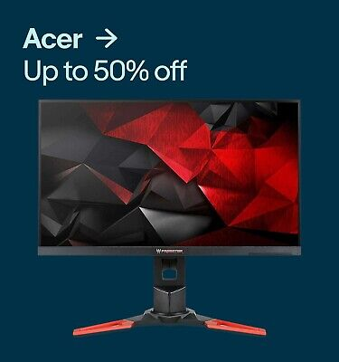 Acer up to 50% off
