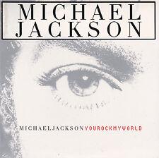 CD CARTONNE CARDSLEEVE  MICHAEL JACKSON 3T YOU ROCK MY WORLD NEUF SCELLE