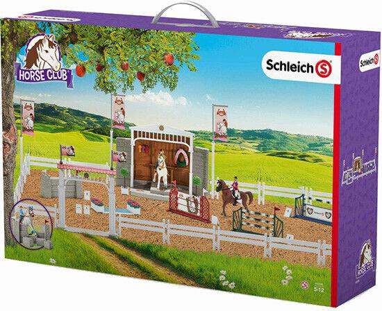 Schleich - Großes Reitturnier mit Reiterinnen und Pferden (42338)