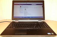 Dell Latitude E6530 laptop - Windows 10 - Intel i7 Quad Core - Nvidia 1 GB
