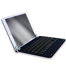 Navy Aluminum Bluetooth 3.0 Wireless Keyboard Holder Case Cover for iPad Mini