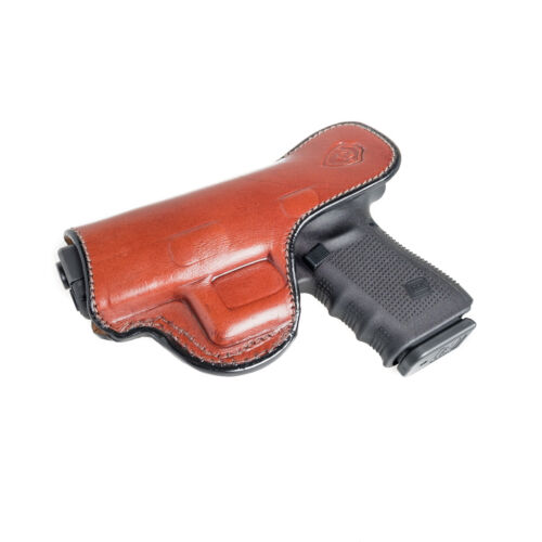 """IWB HOLSTER W// CLIP. INSIDE THE WAISTBAND LEATHER HOLSTER FITS COLT 1911 3/"""""""