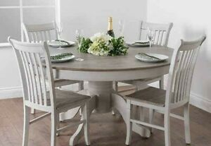 4 X Shabby Chic Dining Room Table, White Shabby Chic Dining Room Sets