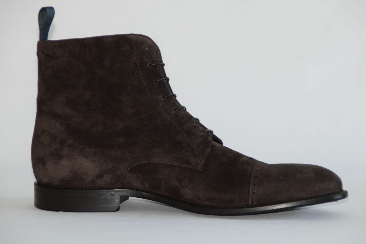 HUGO BOSS ANKLE Stiefel, Stiefel, Stiefel, Mod. Stosonio, Gr. EU 41,5   UK 7.5   US 8.5  Dark braun    64fcc9