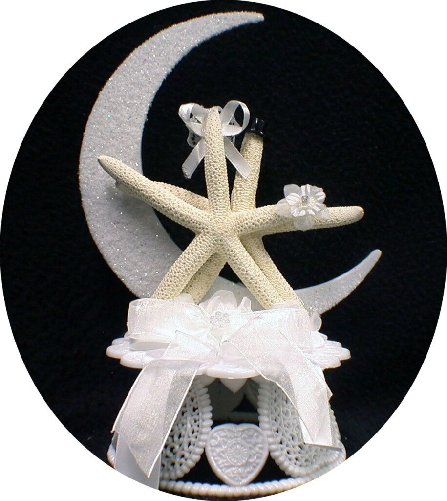 STAR FISH Wedding Cake Topper Nature Beach Ocean Lake florida