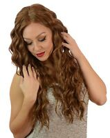 Lace Front Corkscrew Curl Babydoll Wig | Light Chocolate Brown