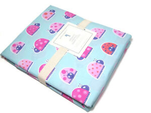 Pottery-Barn-Kids-Multi-Colors-Cotton-Lady-Bug-Insect-Twin-Duvet-Cover-Dot-New