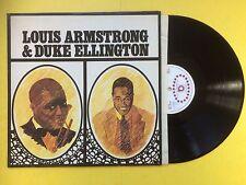 Louis Armstrong & Duke Ellington, Avenue International AV-INT-1006 Ex Condition