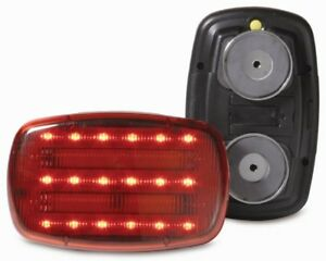 CUSTER-RED-LED-BATTERY-POWERED-MAGNETIC-SAFETY-LIGHT-HF18R-PHD-HEAVY-DUTY
